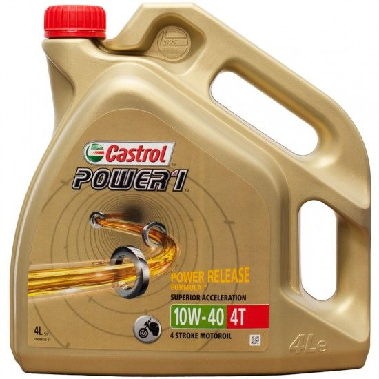 Castrol W Semi Synthetic Motorcycle Oil