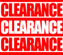 Clearance/sale and discounted items