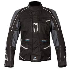 Spada City Nav Textile Jacket Black